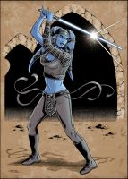 Aayla Secura by 93Cobra