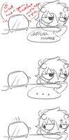 karkat vs toaster by cheriboo