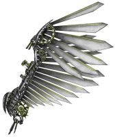 Wing of steel and clock work by teamzoth