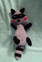 Skippy the Raccoon Plushie by XOFifi