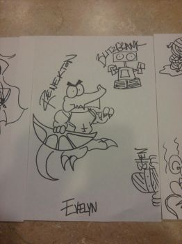 LoL scribbles P2 by Myssiing