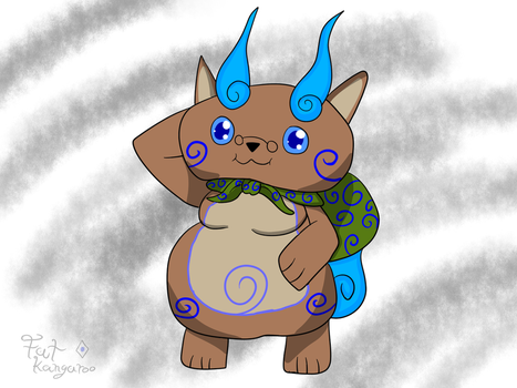 Komaroo (kangy as Komasan) by Kangythekangaroo