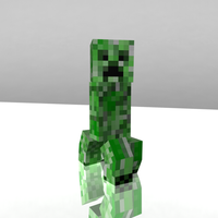 Minecraft Creeper Model by IconDevco