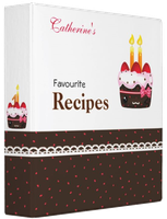 Recipes Binders by BunnyAndI