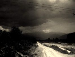 mountains and clouds by mihmann