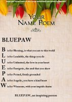Bluepaw's Poem by AmberstormSunny