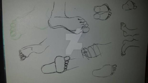 A Study In Feet #0 by ImmortalNighttime