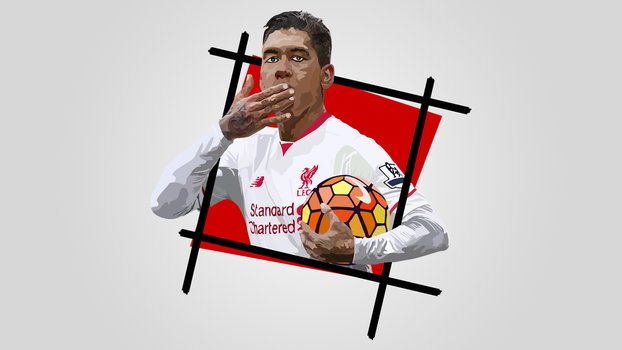 Wallpaper | Firmino 2 by NiromaArts