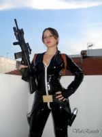 Cosplay Lara Croft roof by Val-Raiseth