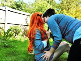 James/Lily - French Kiss by sparrowhawk51