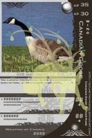The Canadian Goose Card by PlainYellowFox
