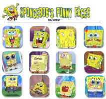 Spongebob's funny faces by KING-SORROW