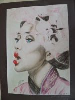 Geisha face by JanaW1995