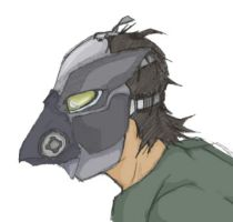 Birdy Gas Mask by defjack