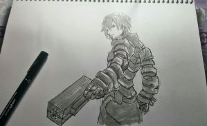Killy from BLAME! by AirtonCS
