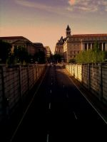 Road in Washington DC by adamsk8