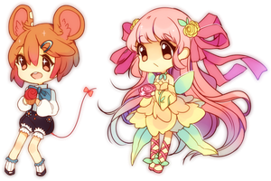 Miri And Cosette by Steamed-Bun