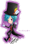 Chibi Alice in Wonderland Series: Mad Hatter by Chrys-o-prase