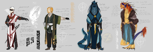 OC re-dressing Worldbuilding exercise by CircuitDruid
