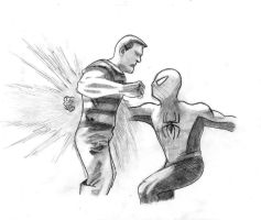 Spidey Punch by Jwpepr