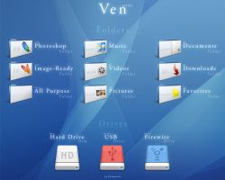 -Ven- Folder Icons by El3ment4l