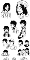 Character Dump 4 by Takeuchi15
