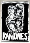 The Ramones by protozoario