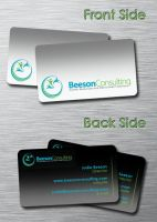 Consulting Agency - Business Card 1 by SimonDiff