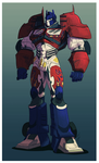 Optimus Prime by Hennei