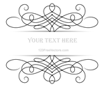 Vector Floral Ornament Banner with Place Your Text by 123freevectors