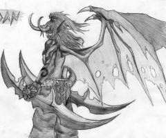 Illidan Stormrage by Ross-Hawkins