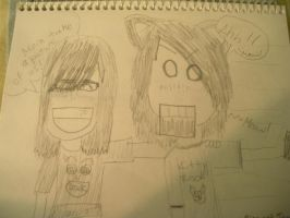 Me n my friend by Rizzy-The-Awesome