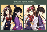 Draw this again meme by maesketch