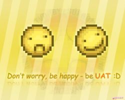 The UAT wallpaper :D by kukalive