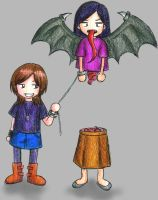 Manananggal. by hydeist17