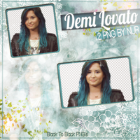 BlueLovato PNG Pack by Me by AlwaysSmileForMe
