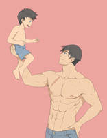A father's work out by SNEEDHAM507