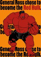 Red Hulk by blindfaith311