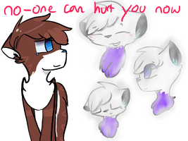 .:no-one can hurt you now:. by MistiGears