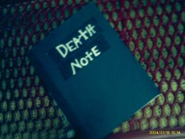 Death Note by SukerForTheCardGames