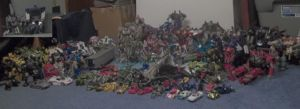My Entire Transformers Collection January 2014 by ImmortalSpark