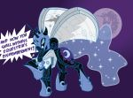 Nightmare Moon, the Mare that is the Moon by Inspectornills