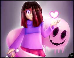 Glitchtale - The PINK Soul by Oszvalt100