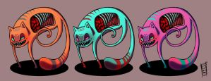 Monster Cats by b-inky