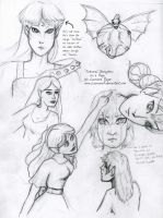 Fictional Characters on a Page by CallMeFarGone