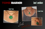Tomb Raider (2013): Lara Croft's necklace by JillaValentina