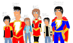 Shazam Characters 1 by werewolf90x