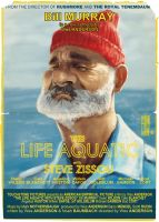 Life Aquatic with Steve Zissue poster by Parpa