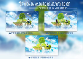 COLLABORATION - My Island (with Jenny) by Yoo-YuHee