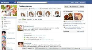 Feliciano's Facebook by Just-Two-Artists